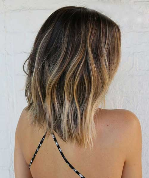 Golden Fade Ombre Hairstyles
