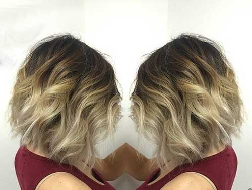 Platinum Blonde Ombre Hairstyle Color for 2015