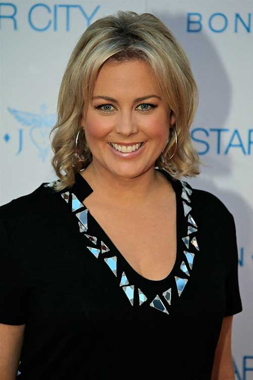 Samantha Armytage Curly Bob Hairstyles