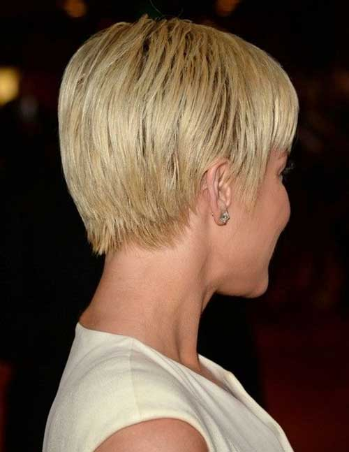 Kellie Pickler Asymmetric Smooth Short Haircuts