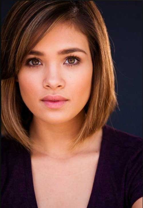Short Casual Simple Bob Haircuts