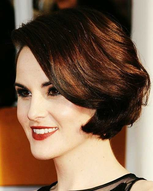 Michelle Dockery Short Gorgeous Classy Hair