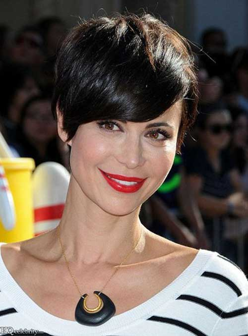 Catherine Bell Short Casual Pixie Styles