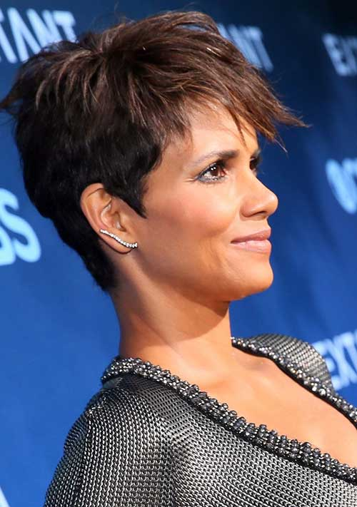 Halle Berry Short Pixie Haircuts