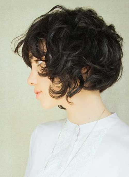 Short Haircuts with Natural Waves