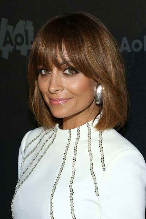 Nicole Richie Striking Short Haircuts