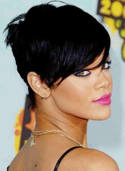 Cute Short Black Pixie Hairstyles