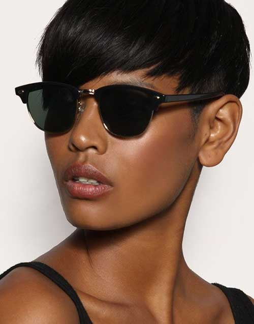 Wonderful Short Pixie Hairstyles for Black Women