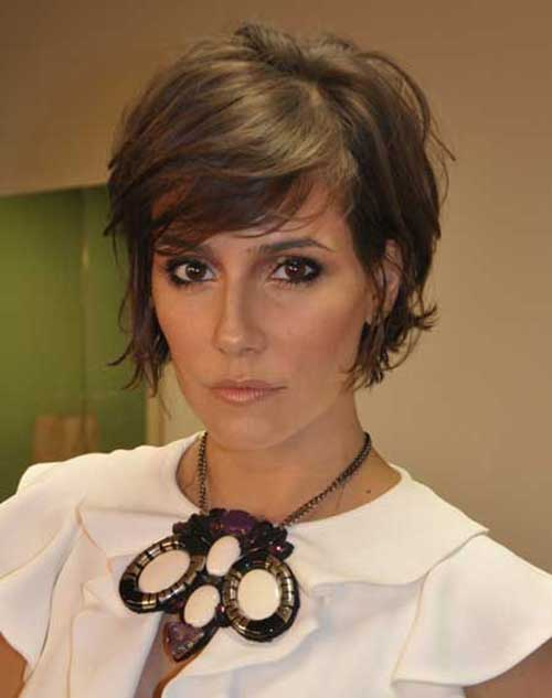 Short Layered Hairstyles Bob