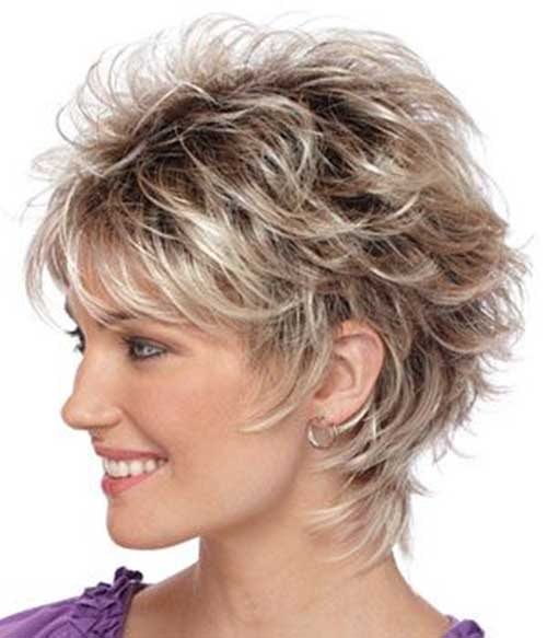 Pleasing Short Feather Cut Hairstyles Emoticons Smileys Symbols Short Hairstyles Gunalazisus