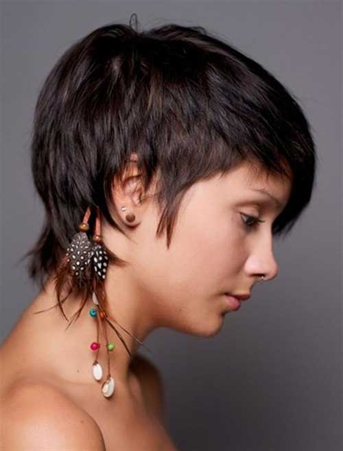 Short Original Natural Straight Hair