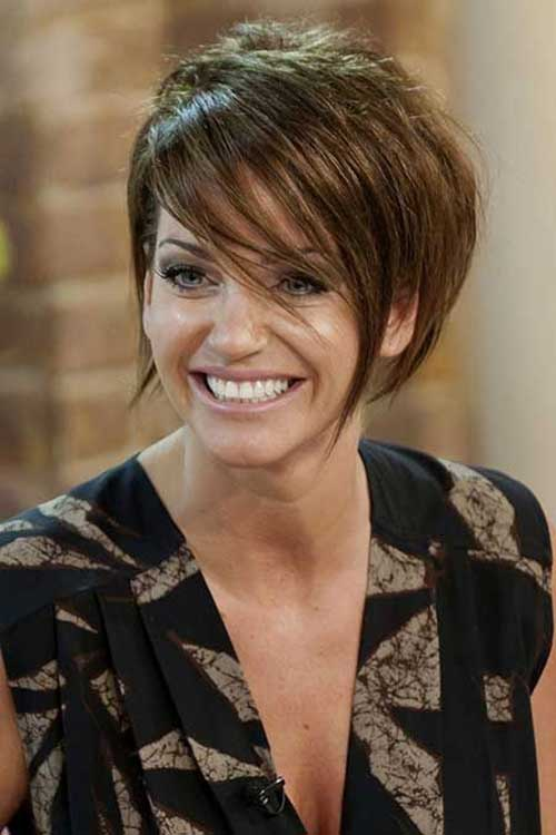 Sarah Harding Short Hairstyles for Women