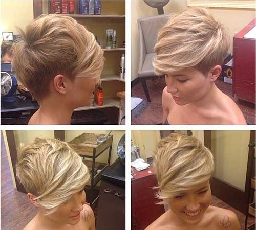 Cute Short Trendy Hairstyles for Girls 2015