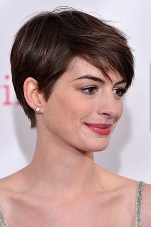 Anne Hathaway Celeb Hairstyle