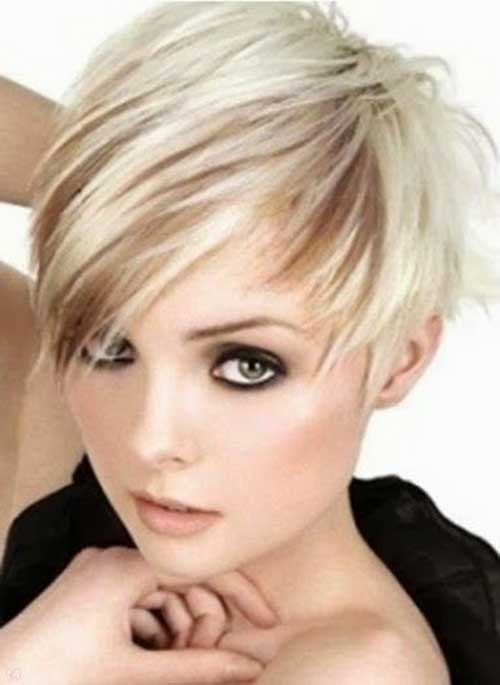 Asymmetrical Pixie for Short Hairstyles 2015