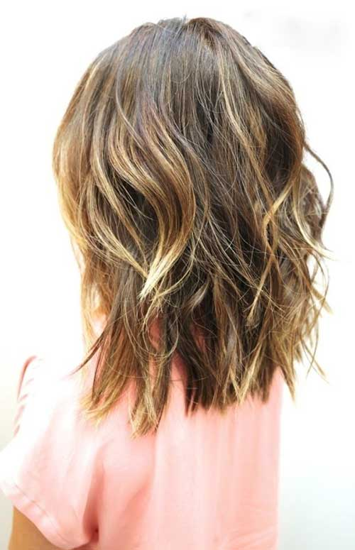 Best Beachy Waves for Short to Medium Length Hairstyles