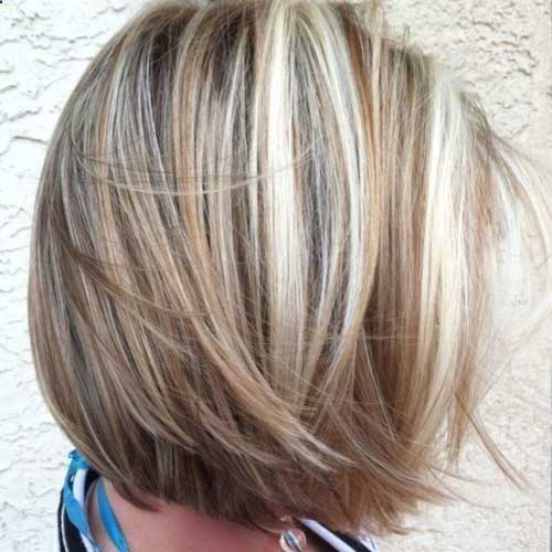 Best Blonde Hair Color Idea for Short Hair