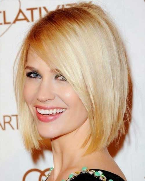 Fine Blunt Bob Haircuts for Summer