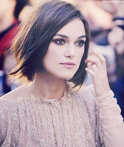 Keira Knightely Blunt Bob