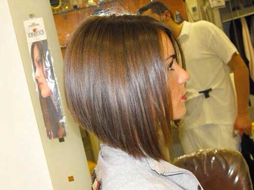 Natural Look Brown Bob Haircuts for Fine Hair