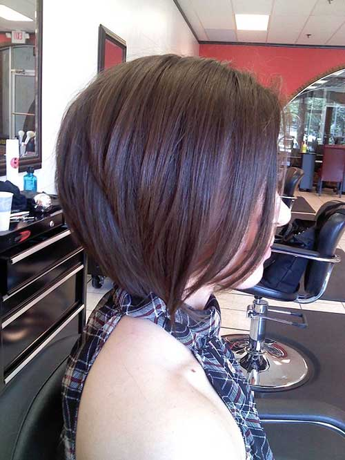 Bob a Line Haircuts for Thick Hair
