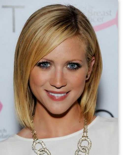 Brittany Snow Fine Straight Hair
