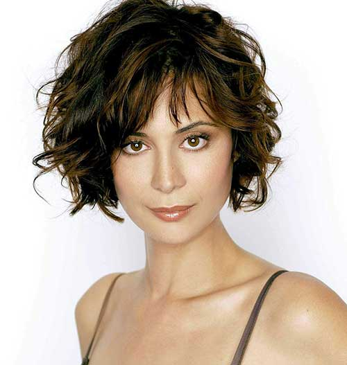 Catherine Bell Curly Hairstyles
