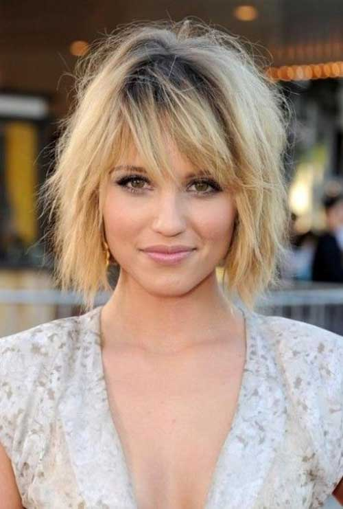 Celebrity Hair with Bangs for Girls