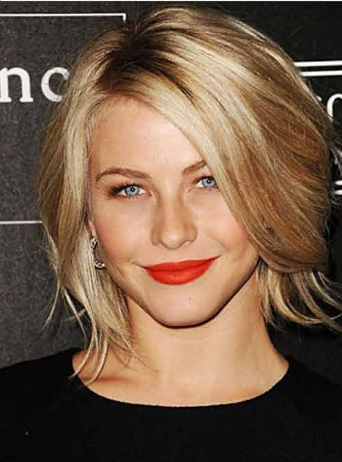 Julianne Hough Celebrity Short Hairstyles