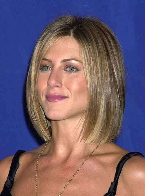 Jennifer Aniston Celebs with Short Hair