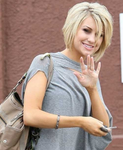 Chelsea Kane Inverted Bob Hairstyle
