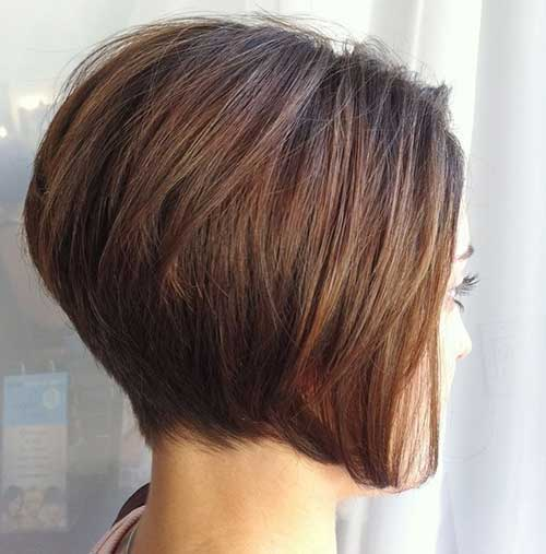 Chic Stacked Thick Bob Haircuts