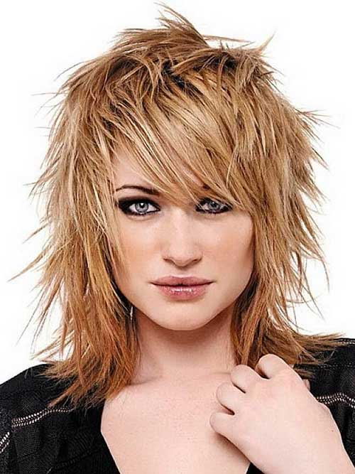 Cute Choppy Layered Hairstyles 2015