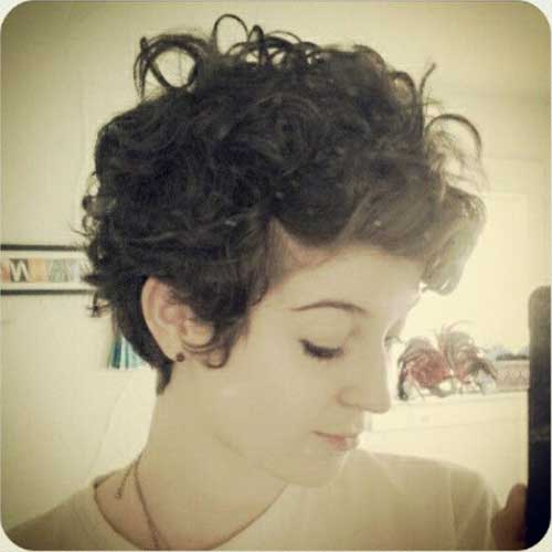 Curly Pixie Cuts for Girls Trend 2015