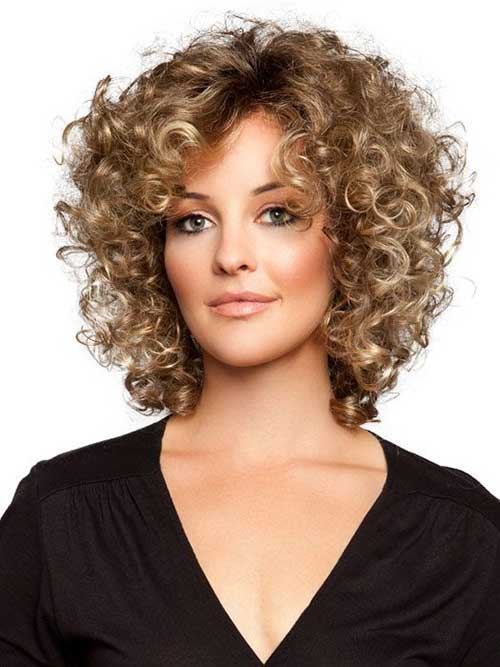 Best Cute Short Curly Hairstyles