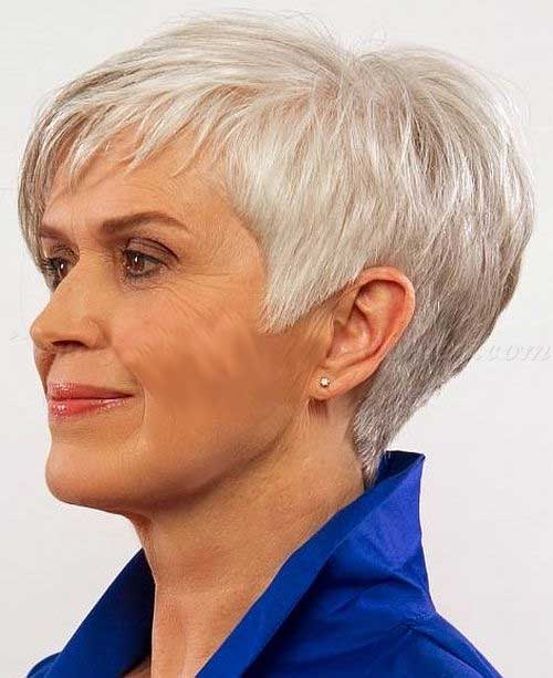 Trendy Cuts for Cute Grey Hair