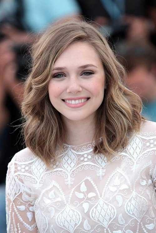 Elizabeth Olsen Haircut Mid Bob Style