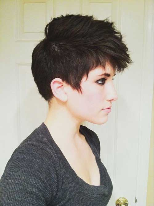 Pixie Cuts Faux Hawk for Women