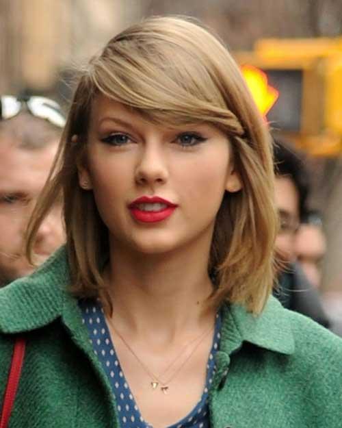 Taylor Swift Straight Short Hair