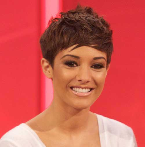 Frankie Sandford Pixie Cut Best Idea 2015