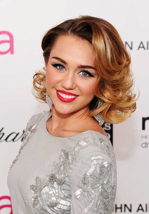 Miley Cyrus Gatsby Hairstyles
