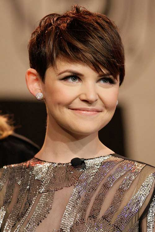 Ginnifer Goodwin Short Hair Pixie Stlye 2015