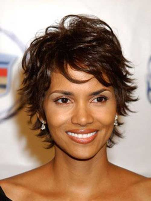 Halle Berry Celebrity Hairstyles 2015