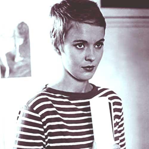 Jean Seberg Pixie Haircuts