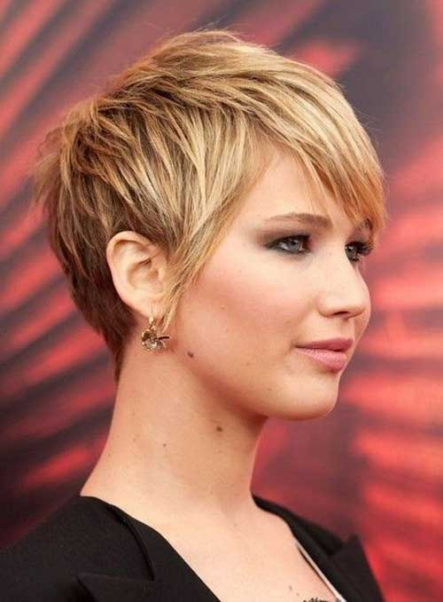 Jennifer Lawrence Pixie Cut Styles for Women 2015