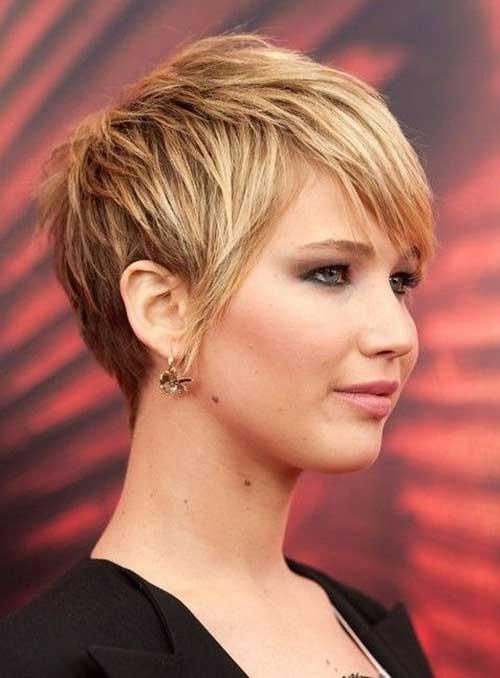Jennifer Lawrence Pixie Cut Styles for Women 2015