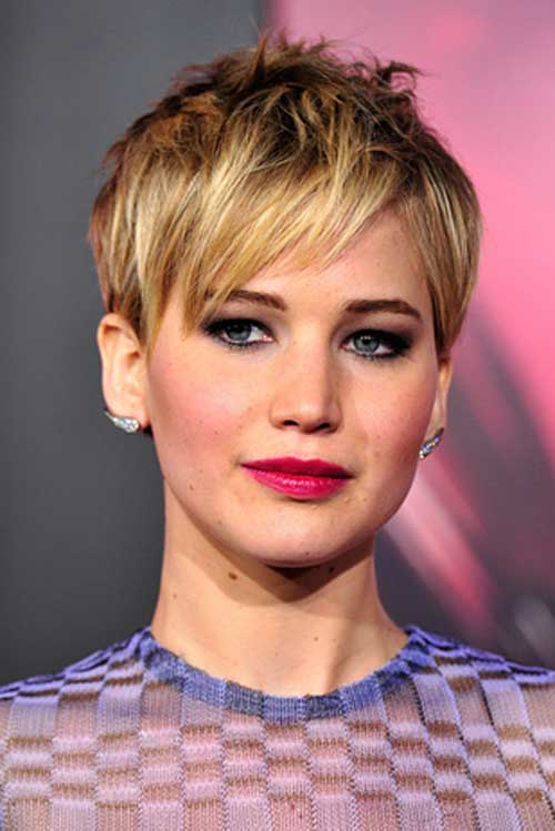 Jennifer Lawrence Short Haircut 2015