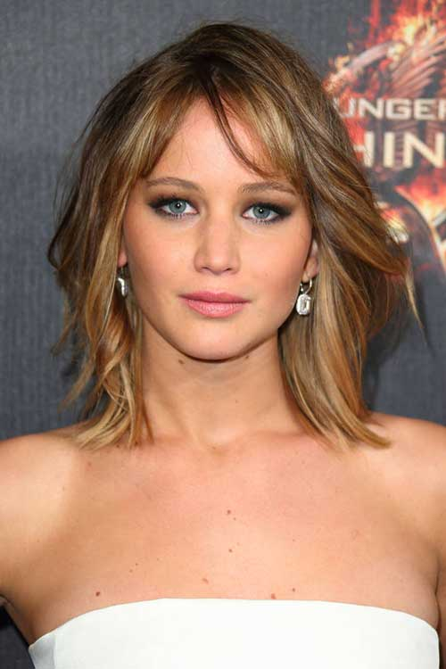 Jennifer Lawrence Summer Haircuts 2015