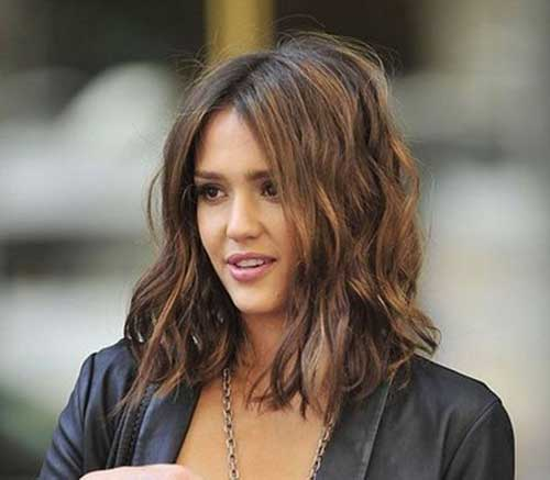 Jessica Alba Chocolate Brown Hair