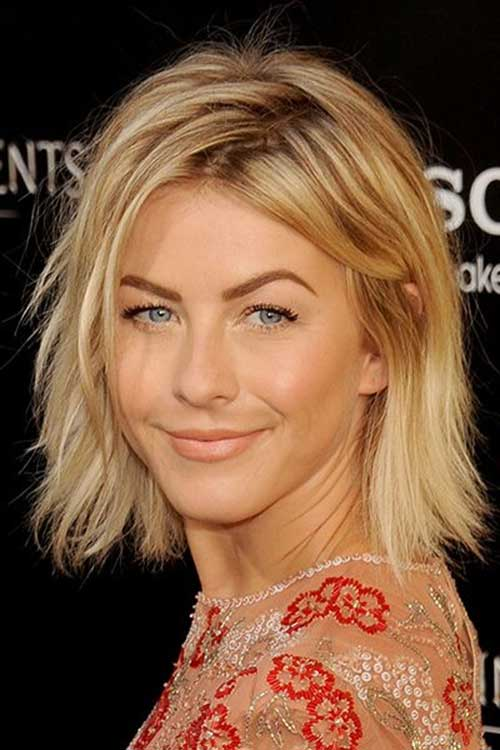 Julianne Hough Layered Hairstyles